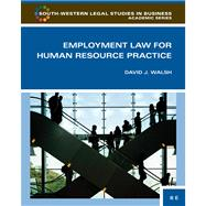 Employment Law For Human Resource Practice,9780324594850
