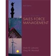 Sales Force Management,9780073404851