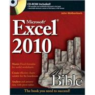 Excel 2010 Bible,9780470474877