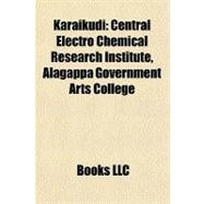 Karaikudi : Central Electro Chemical Research Institute, Ala..., 9781156844892  