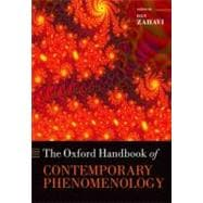 The Oxford Handbook of Contemporary Phenomenology, 9780199594900