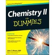Chemistry II for Dummies, 9781118164907
