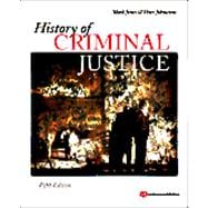 History of Criminal Justice, 9781437734911  