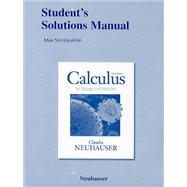 Student Solutions Manual for Calculus for Biology and Medici..., 9780321644923