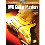 Guitar Masters: Watch and Learn With This Innovative Dvd/Boo..., 9781423494935  