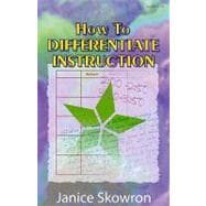 How to Differentiate Instruction,9781575174952