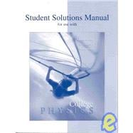 Student Solutions Manual to accompany College Physics,9780070524972