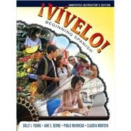 ¡Vívelo! Beginning Spanish, Annotated Instructor's Edition, 1st Edition,9780470554975