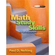 Math Study Skills Workbook, 4th Edition
