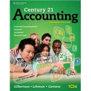 Century 21 Accounting,9780840064981