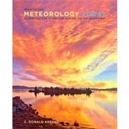 Meteorology Today An Introduction to Weather, Climate, and the Environment,9780840054999