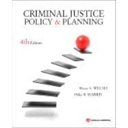 Criminal Justice Policy and Planning,9781437735000