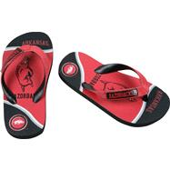 Arkansas Razorbacks Youth Zori Flip Flops
