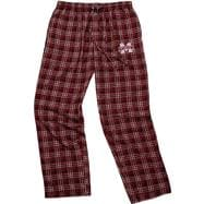 Mississippi State Bulldogs Maroon Empire Flannel Pants
