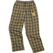 West Virginia Mountaineers Navy Empire Flannel Pants