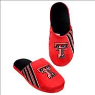 Texas Tech Red Raiders Hard Sole Stripe Slipper