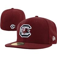 South Carolina Fighting Gamecocks New Era 59FIFTY Basic Fitted Hat