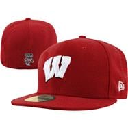 Wisconsin Badgers New Era 59FIFTY Basic Fitted Hat