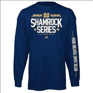 Notre Dame Fighting Irish adidas Chicago 2012 Shamrock Series Structure Youth Long Sleeve T-Shirt