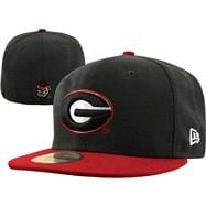 Georgia Bulldogs New Era 59FIFTY 2 Tone Graphite Fitted Hat