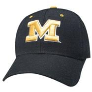 Missouri Tigers ''M'' Black DH Hat