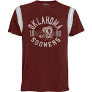 Oklahoma Sooners '47 Brand Scrum Chopblock Jersey Tee