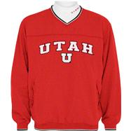 Utah Utes Windshirt/Long Sleeve Mockneck Combo Pack
