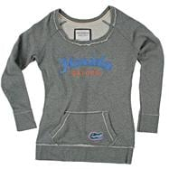 Florida Gators Women's Scoop Pullover Long Sleeve Fleece