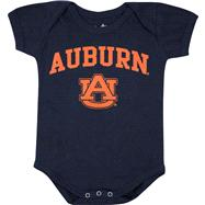 Auburn Tigers Newborn/Infant Navy Big Fan Creeper