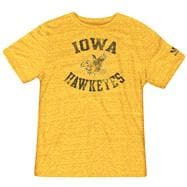 Iowa Hawkeyes Gold adidas Originals Tri-Blend Vintage T-Shirt