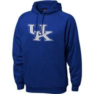 Kentucky Wildcats Royal Tackle Twill Performance Fleece Hooded Sweatshirt