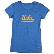 UCLA Bruins Women's Blue adidas Heathered Better Logo T-Shirt