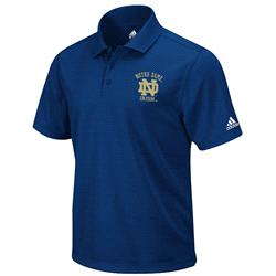 Notre Dame Fighting Irish adidas Lefty Performance Polo Shirt - Navy