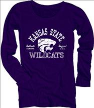 Kansas State Wildcats Women's Medusa Scoopneck Long Sleeve T-Shirt
