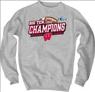 Wisconsin Badgers 2012 Big Ten Conference Football Champions Sparkle Crewneck Sweatshirt