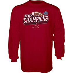 Alabama Crimson Tide 2012 SEC Football Champions Sparkle Long Sleeve T-Shirt