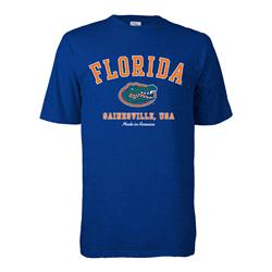 Florida Gators Hometown Made in America T-Shirt - Royal