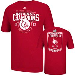 Louisville Cardinals adidas 2013 College Basketball National Champions Banner T-Shirt