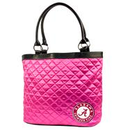 Alabama Crimson Tide Pink Quilted Tote