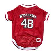 Wisconsin Badgers Mesh Dog Jersey