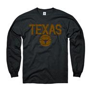 Texas Longhorns Black Dimension Basketball Long Sleeve T-Shirt