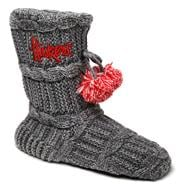 Nebraska Cornhuskers Women's Knit Fashion Bootie
