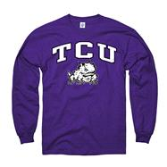 TCU Horned Frogs Purple Perennial II Long Sleeve T-Shirt