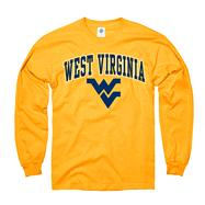 West Virginia Mountaineers Gold Perennial II Long Sleeve T-Shirt