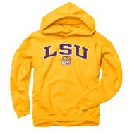 LSU Tigers Youth Gold Perennial II Hooded Sweatshirt