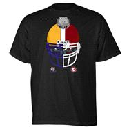 LSU Tigers vs. Alabama Crimson Tide adidas 2011 BCS National Championship Game Side By Side T-Shirt