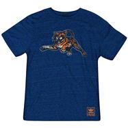 Auburn Tigers Heather Navy adidas Originals The Balboa Tri-Blend T-Shirt