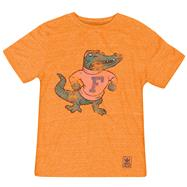 Florida Gators Heather Orange adidas Originals The Balboa Tri-Blend T-Shirt