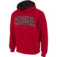 South Carolina Gamecocks Cardinal Twill Arch Hooded Sweatshirt