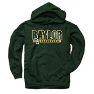 Baylor Bears Dark Green Show Thru Basketball Hooded Sweatshirt